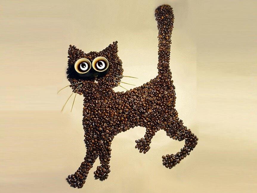 29 сентября (сб) — Котик из кофейных зёрен - Lюstra Bar