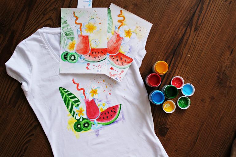 16 сентября (сб) — Мастер-класс: Рисуем на футболках!